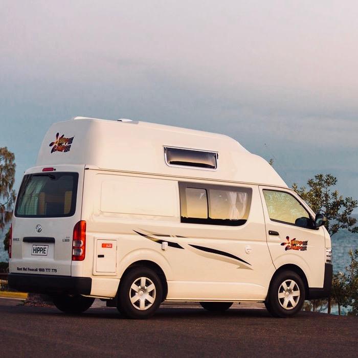 Hippie Endeavour camper Australie en Nieuw-Zeeland