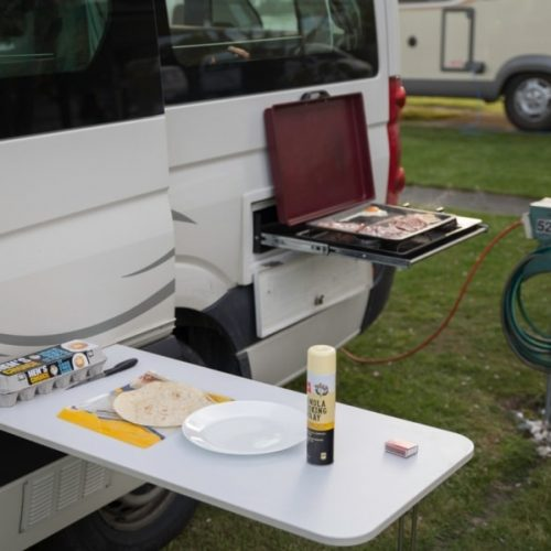 Britz Venturer camper huren bij Oak Travel