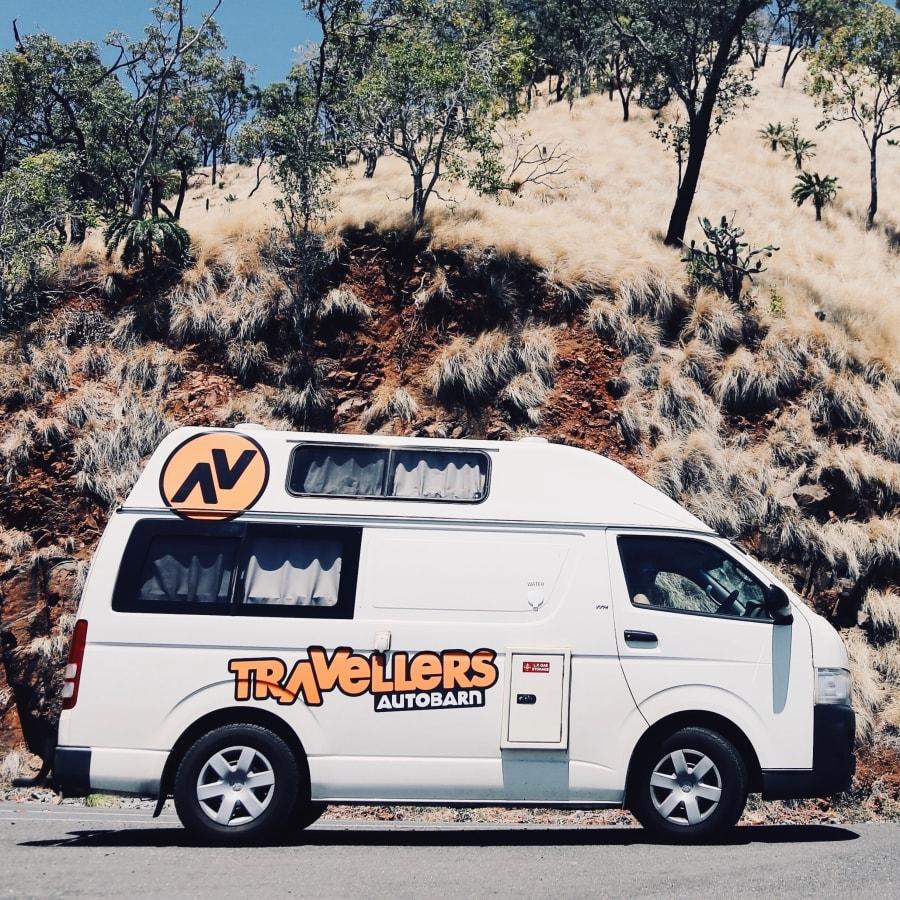 Travellers Autobarn Hitop camper huren in Nieuw-Zeeland